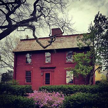 Birthplace Of Nathaniel Hawthorne.  The by Jeff Foliage
