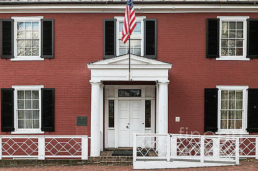 Birthplace of Woodrow Wilson by John Greim