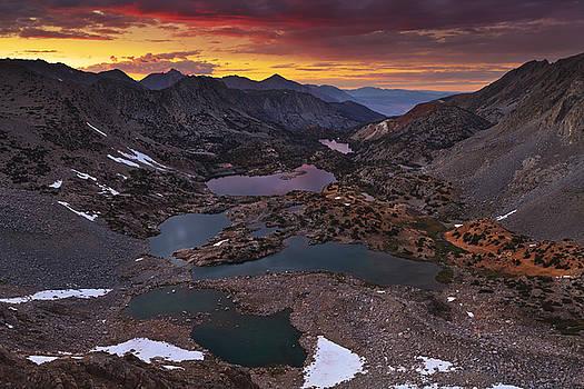 Bishop Pass Sunset by Nolan Nitschke