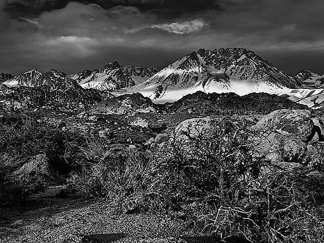 Bishop Range Eastern Sierra by Chris Morrison