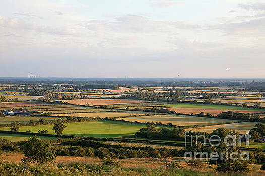 Bishop Wilton Wold view of the Vale of York by Gavin Dronfield