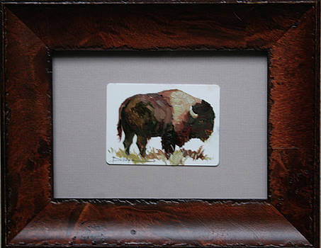 Bison by Betty Jean Billups