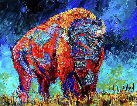 Bison Plains by Debra Hurd