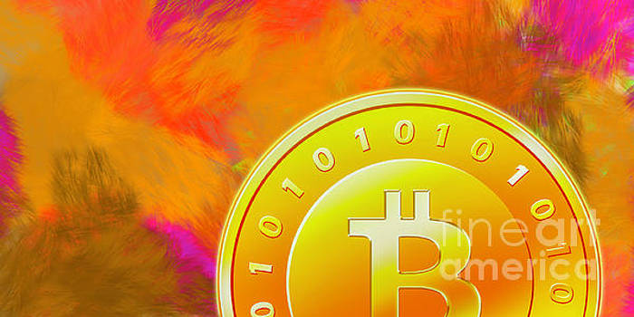 BitCoin on Fire by Rich Collins
