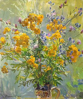Bitter herbs by Victoria Kharchenko