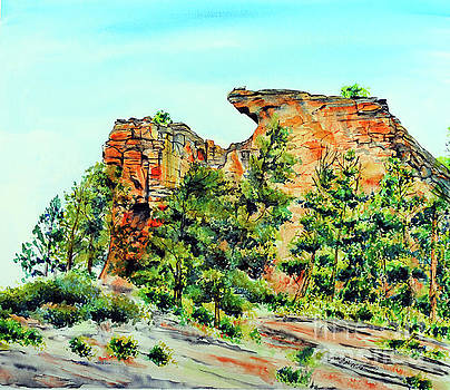 Bitterroot Cliffs by Tracy Rose Moyers