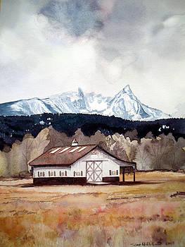 Bitterroot Valley cabin  by Scott Mulholland