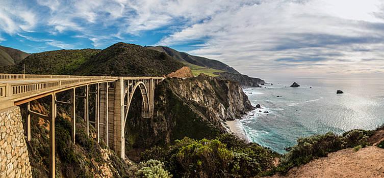 Bixby Creek Bridge Big Sur California  by John McGraw