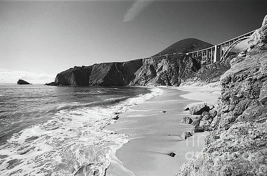 California Views Archives Mr Pat Hathaway Archives - Bixby Beach looking North to Bixby Landing Circa 1987