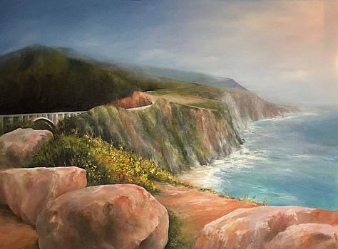 Bixby Bridge, Big Sur by Donna Pierce-Clark