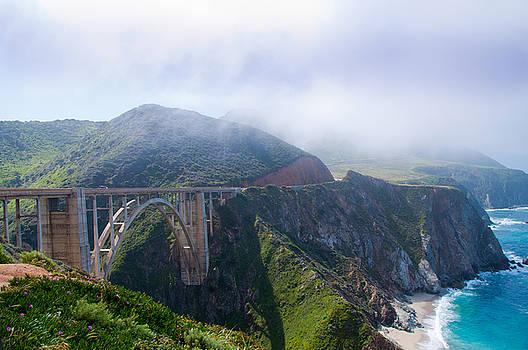 Bixby Bridge Fog by Digartz - Thom Williams