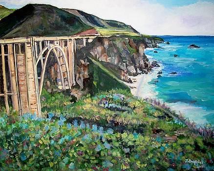 Bixby Bridge by Teresa Dominici