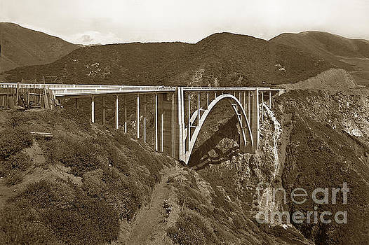 California Views Mr Pat Hathaway Archives - Bixby Creek AKA Rainbow Bridge Bridge Big Sur photo  1937