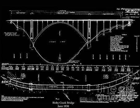 California Views Archives Mr Pat Hathaway Archives - Bixby Creek Bridge 1932