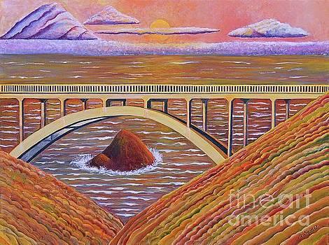 Bixby Creek Bridge Big Sur by Joseph J Stevens