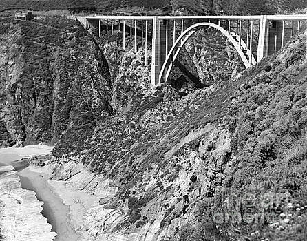 California Views Mr Pat Hathaway Archives - Bixby Creek Bridge Big Sur photo  circa 1939