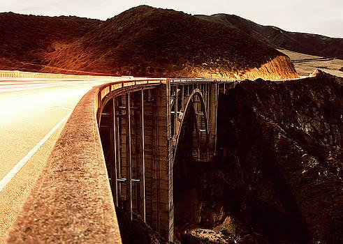 Bixby Creek Bridge, California by Heather Grow
