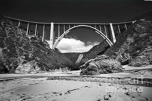 California Views Archives Mr Pat Hathaway Archives - Bixby Creek Bridge for Bixby Beach  1987