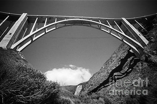 California Views Mr Pat Hathaway Archives - Bixby Creek Bridge from Bixby Beach 1987