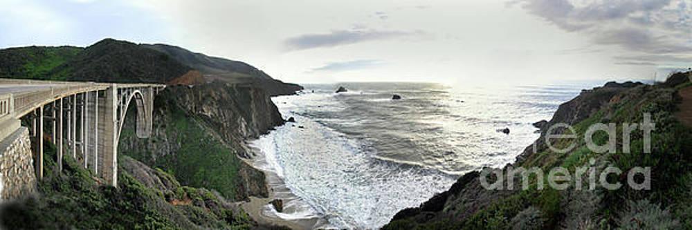 California Views Mr Pat Hathaway Archives - Bixby Creek Bridge on the Big Sur Coast of California  Jan. 2010