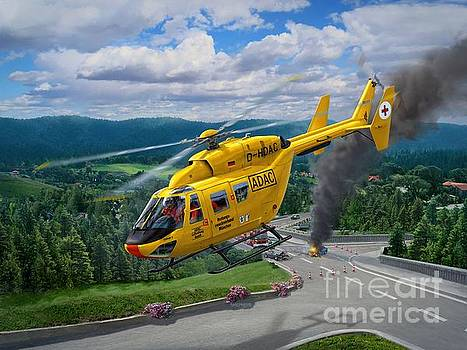 BK-117 To the Rescue by Stu Shepherd