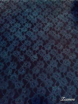 Black And Blue Lace by Richard Perez