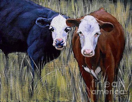 Christopher Shellhammer - Black and Brown Cow