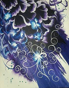 Black and purple by Christina Little