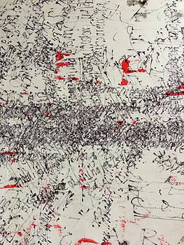 Black and Red 2 by Nancy Merkle