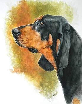 Barbara Keith - Black and Tan Coonhound