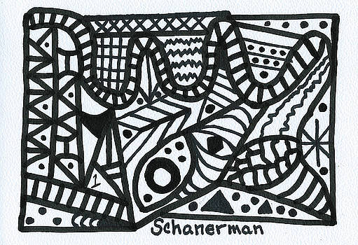 Black and White 1 by Susan Schanerman