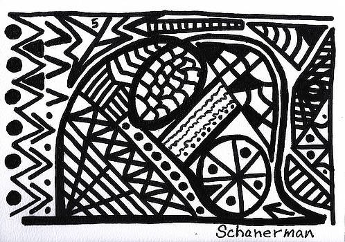 Black and White 5 by Susan Schanerman