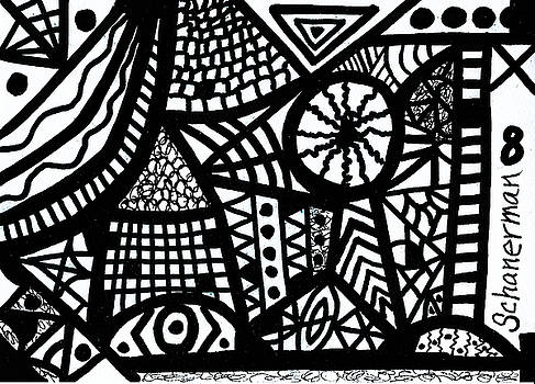 Black And White 8 by Susan Schanerman