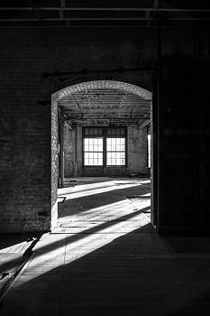 Black and White Abandoned Architecture Photo by Dylan Murphy