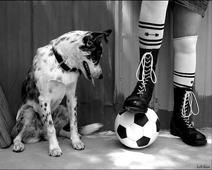 Alana  Schmitt - Black and white and soccer