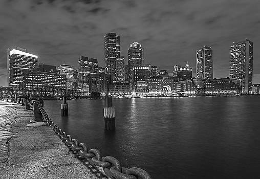 Black and White Boston by Juergen Roth