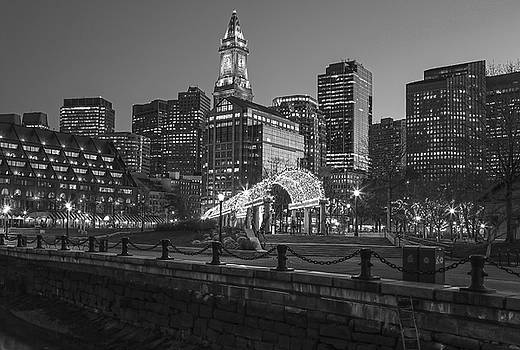 Black and White Boston North End by Juergen Roth
