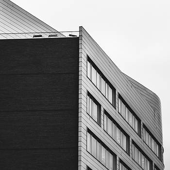 Black and White City Architecture by Dylan Murphy