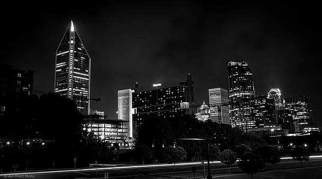 Black and White Downtown by Ant Pruitt