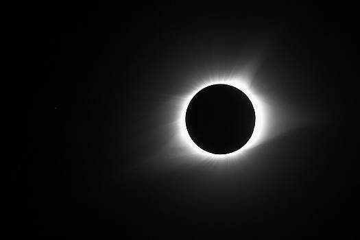 Paul Rebmann - Black and White Eclipse Totality