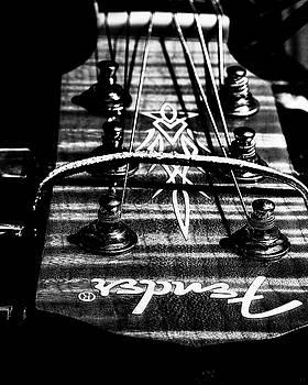 Black and White Fender by J Austin