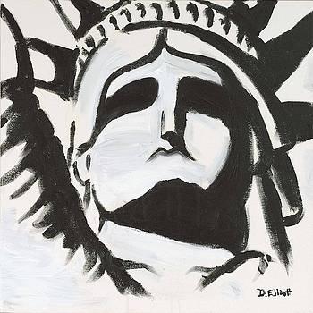 Black and White Liberity by Davis Elliott