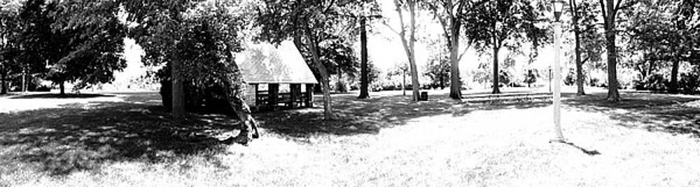 Black and White Park by John Clark