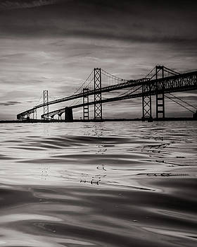 Black and White Reflections 2 by Jennifer Casey