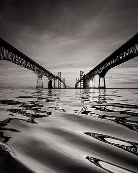 Black and White Reflections by Jennifer Casey