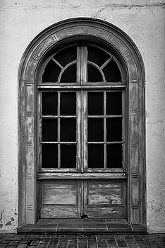 Black and White Window by Steven Michael