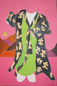 Black Baby Kimono by Martin Silverstein