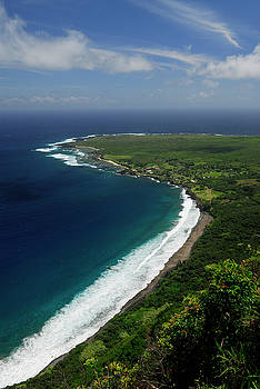 Reimar Gaertner - Black beach and Kalaupapa peninsula leper colony Molokai