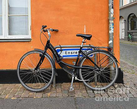 Black Bicycle, Aarhus, Denmark by Catherine Sherman