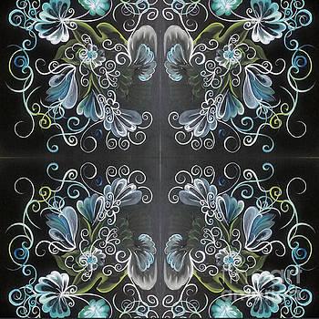 Black blue green by Christina Little